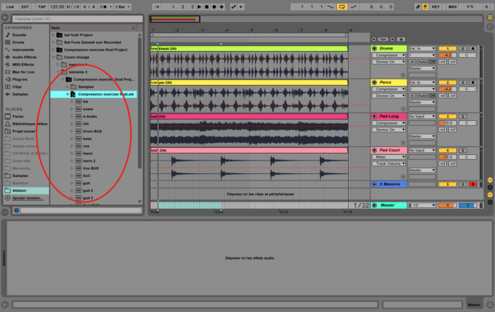 Ableton Live - Ressusciter vieux projets