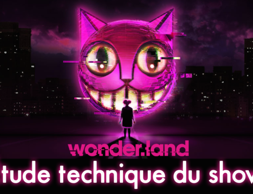 Étude technique du show « wonder.land »