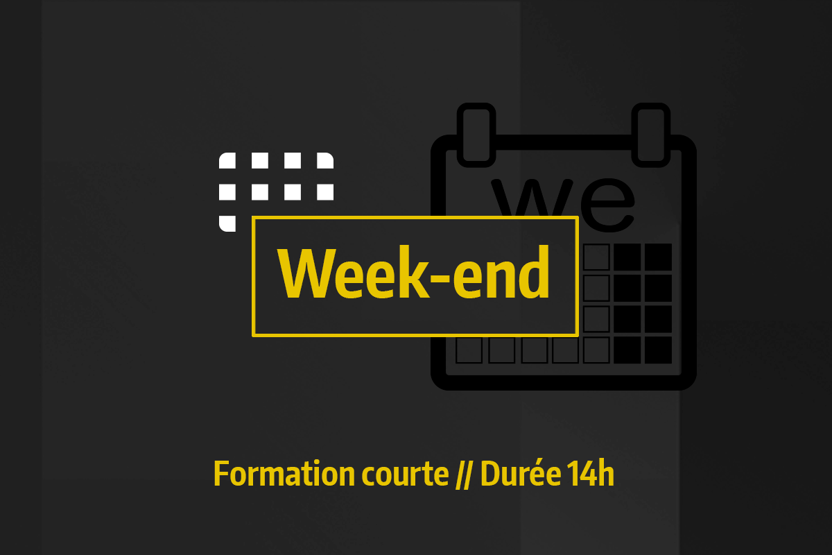 Formations week-end
