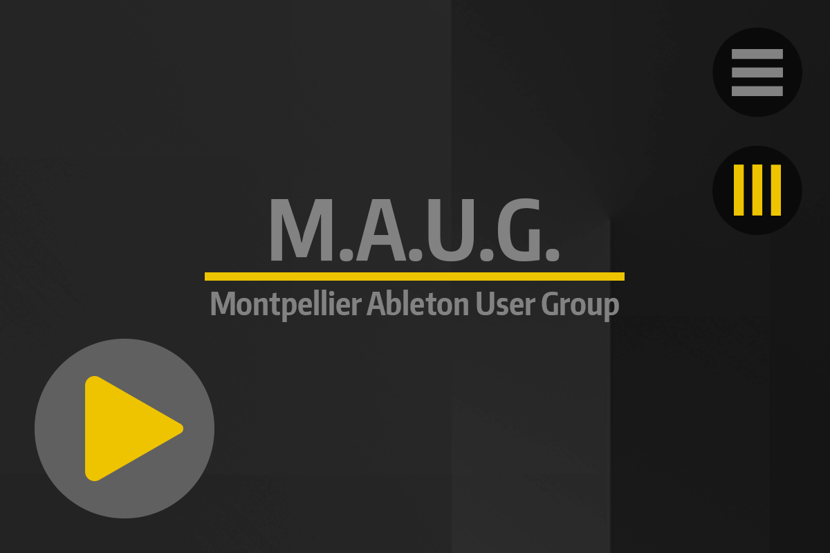 Accueil - Tutos & News - Montpellier Ableton User Group