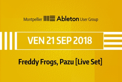 MAUG du 21 Septembre 2018 - Freddy Frogs, Pazu (Live Set)
