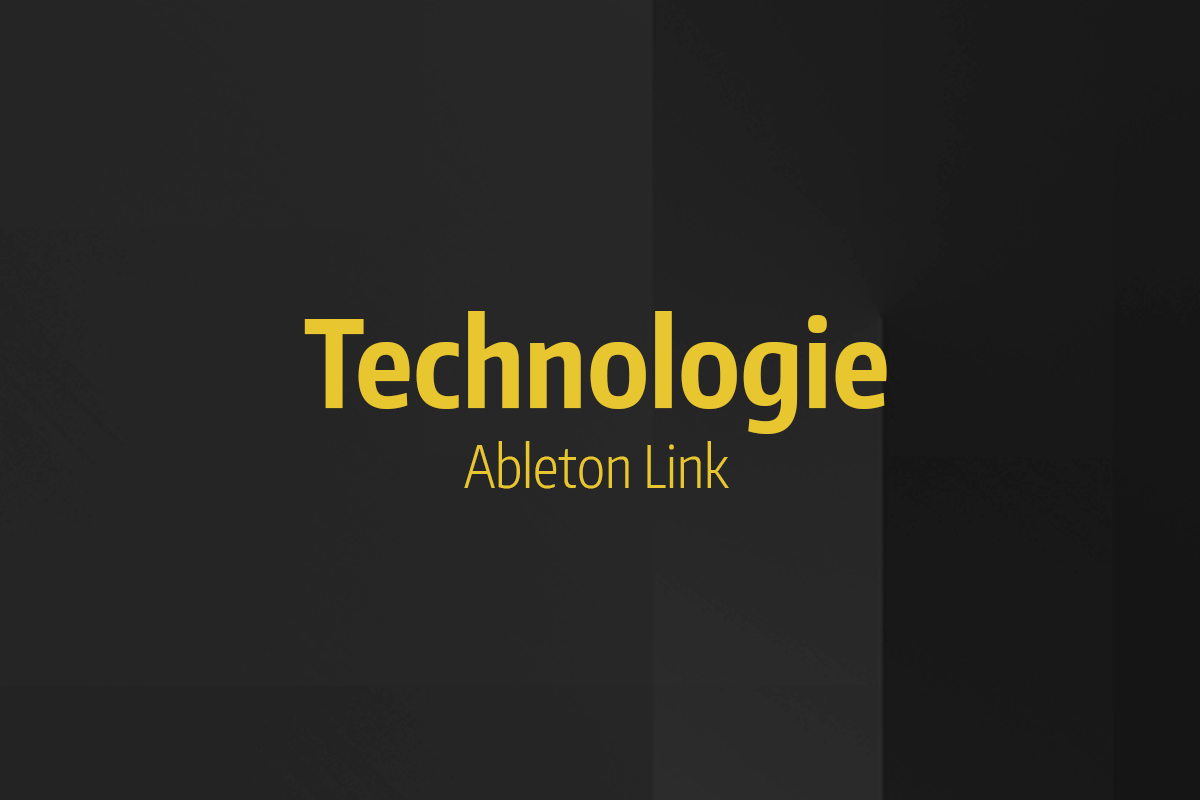 Tutoriel Ableton Live - Technologie Ableton Link