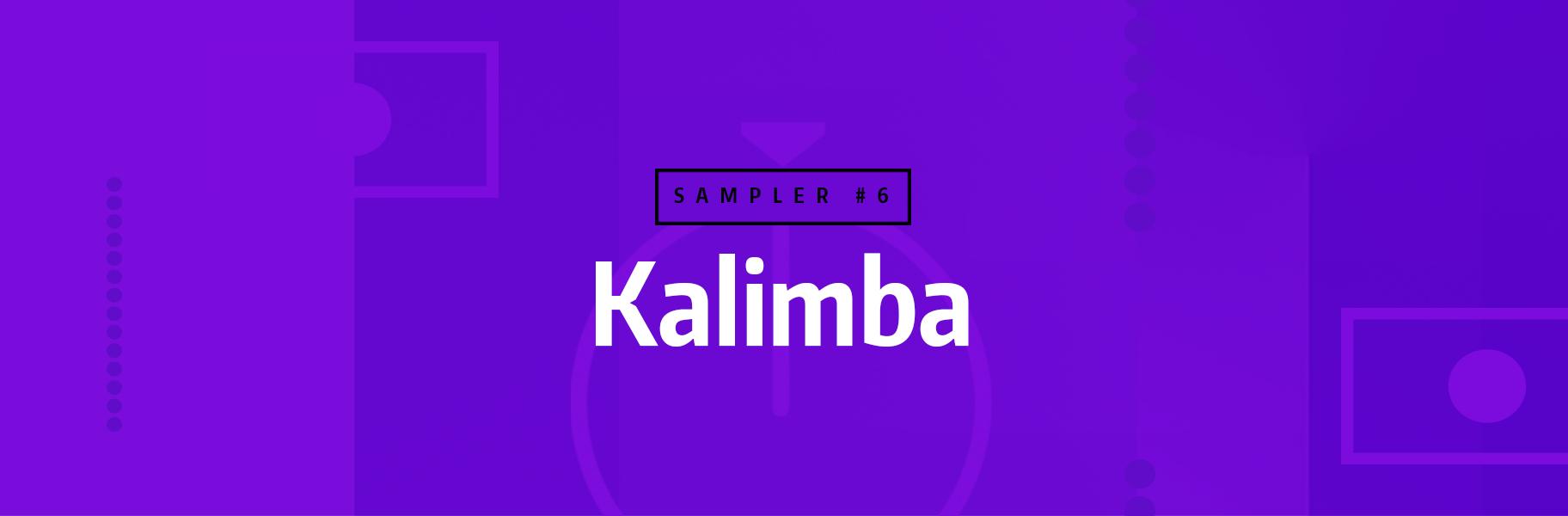 Sampler Instrument #6 - Kalimba