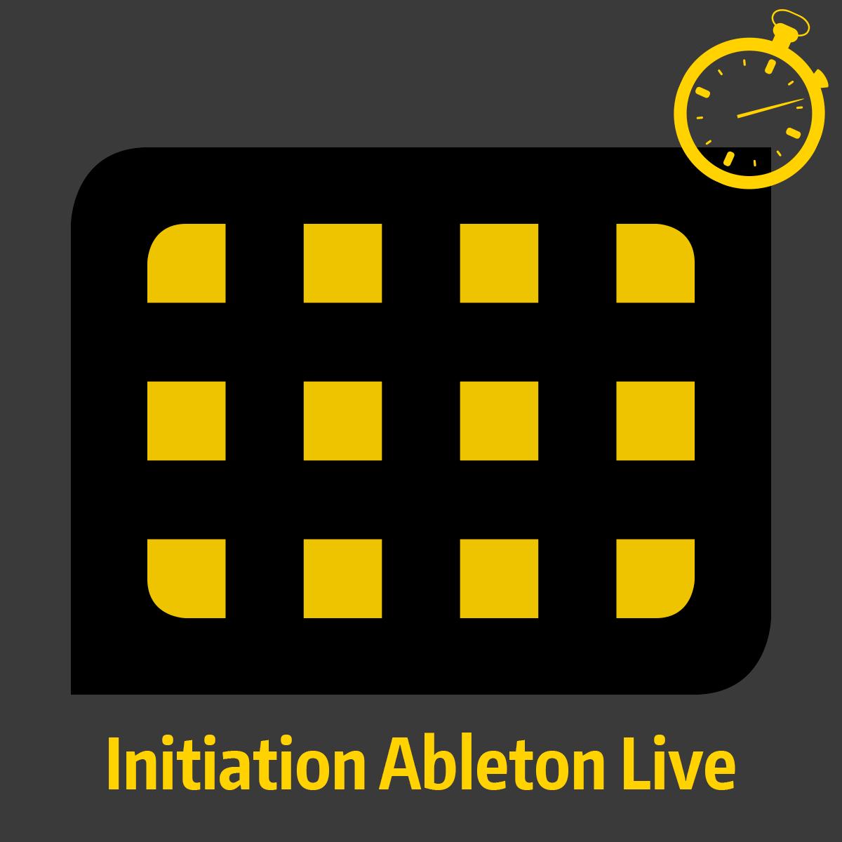 Formation accélérée - Initiation Ableton Live